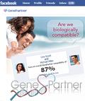 Genepartner facebook app picture