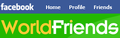 Worldfriends on facebook logo