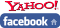 Yahoo facebook loga