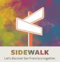 Tagged sidewalk app logo
