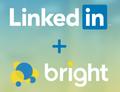 Linkedin bright logos
