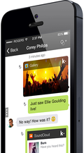Kik messenger screenshot